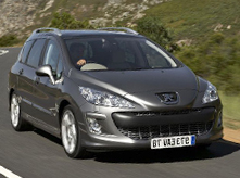 Car hire Majorca offers Peugeot 308 SW  or similar