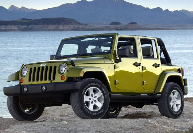 Jeep Wrangler 5p. Hard or Soft Top Automatic