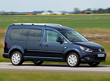 Autovermieting VW Caddy Maxy 7 pax  Mallorca