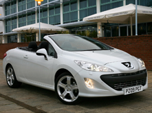 Car hire Majorca offers Peugeot 308 Cabrio  or similar