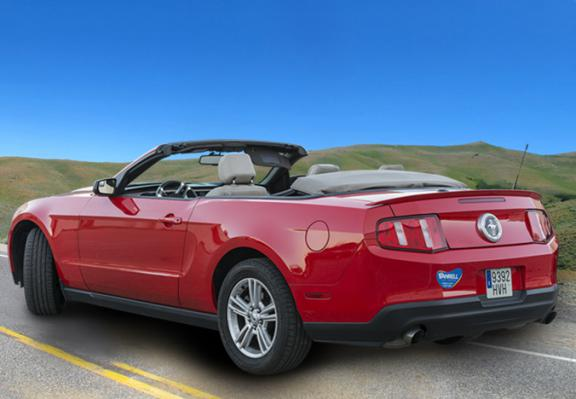 Autovermieting Ford Mustang Cabrio Automatic Mallorca